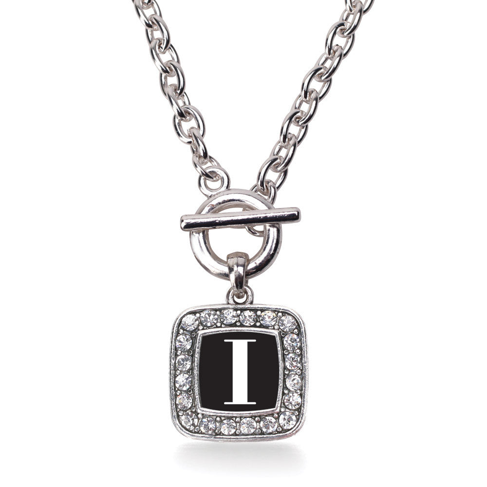 My Vintage Initials - Letter I Square Charm