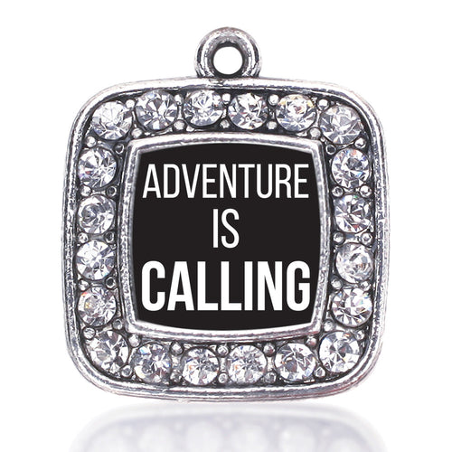 Adventure Is Calling Square Charm