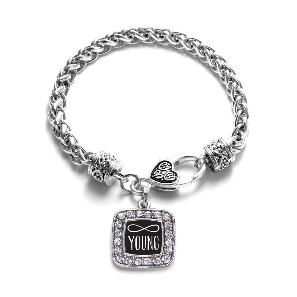 Forever Young Square Charm