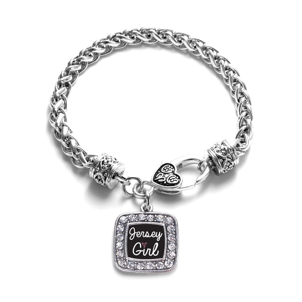 Jersey Girl Square Charm