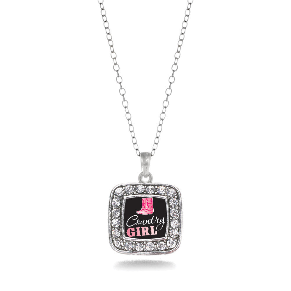 Country Girl Square Charm