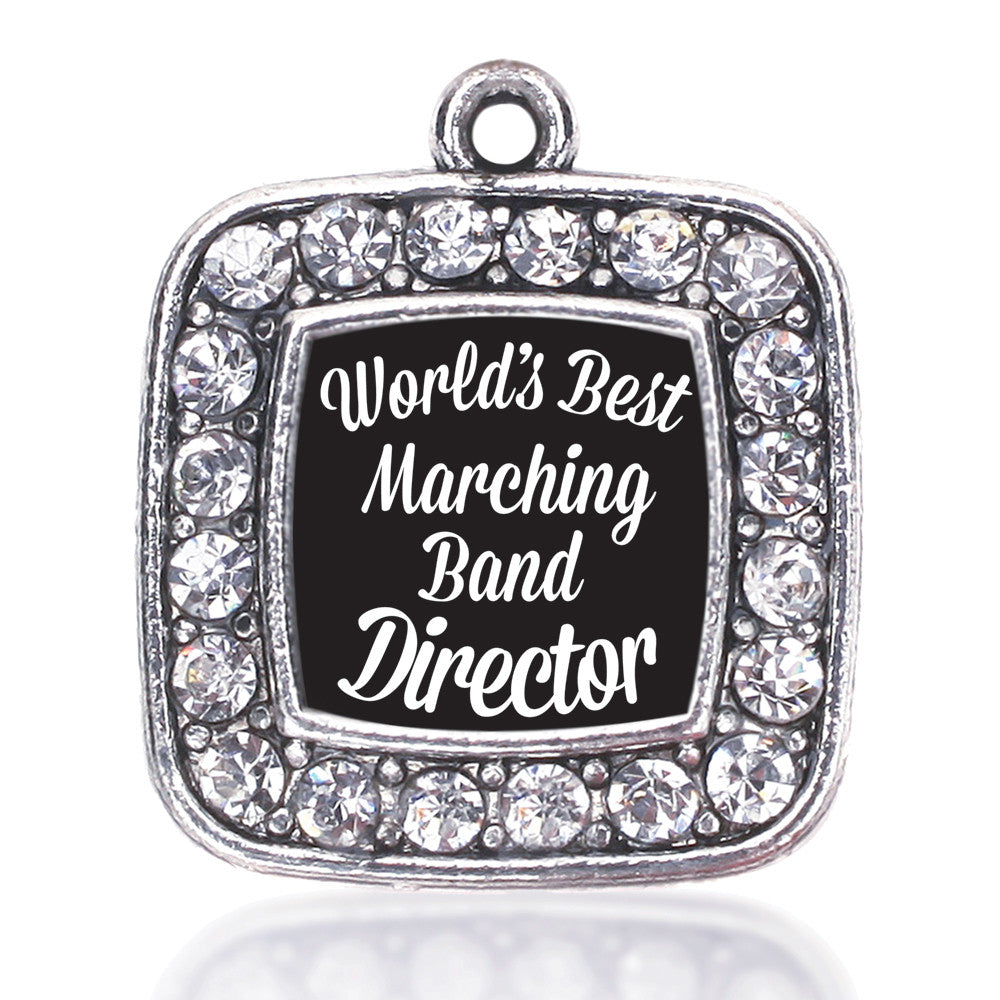 World's Best Marching Band Director Square Charm