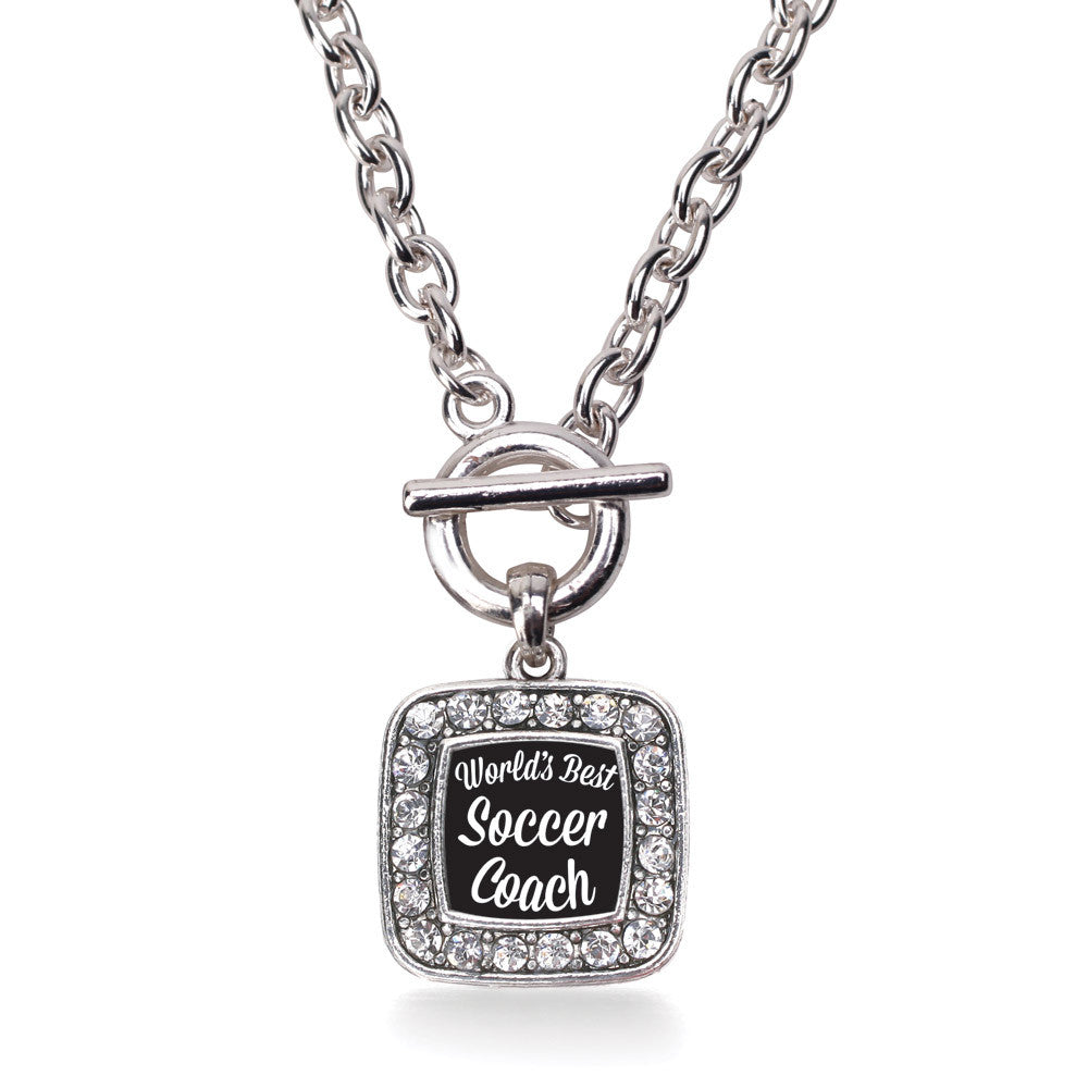 World's Best Soccer Coach Square Charm