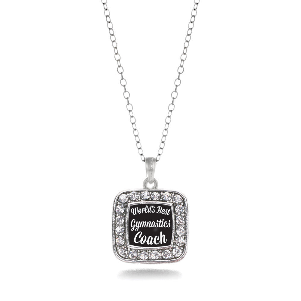 World's Best Gymnastics Coach Square Charm