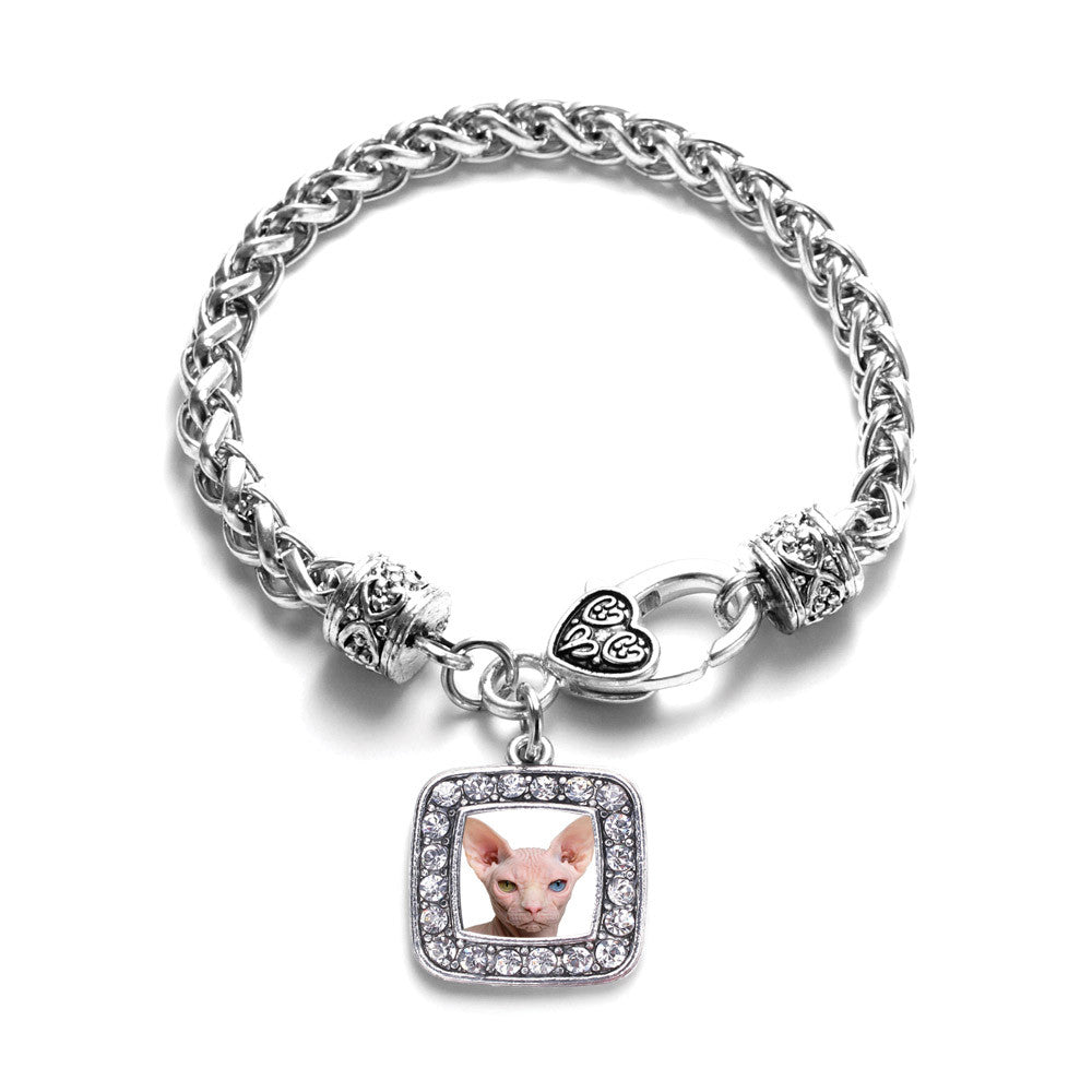 Sphinx Cat Square Charm