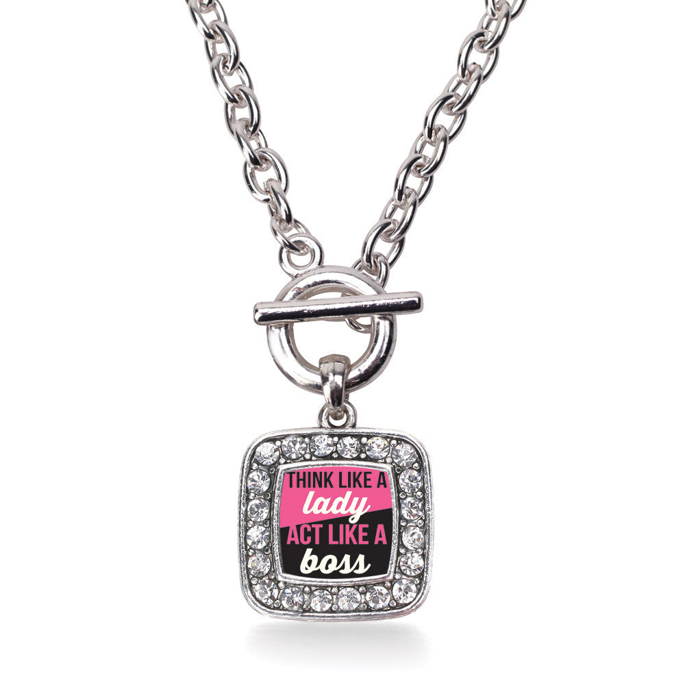 Think Like a Lady Square Charm