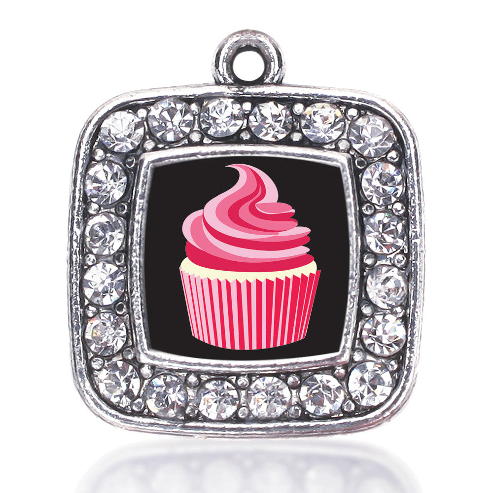 Cupcake Lovers Square Charm