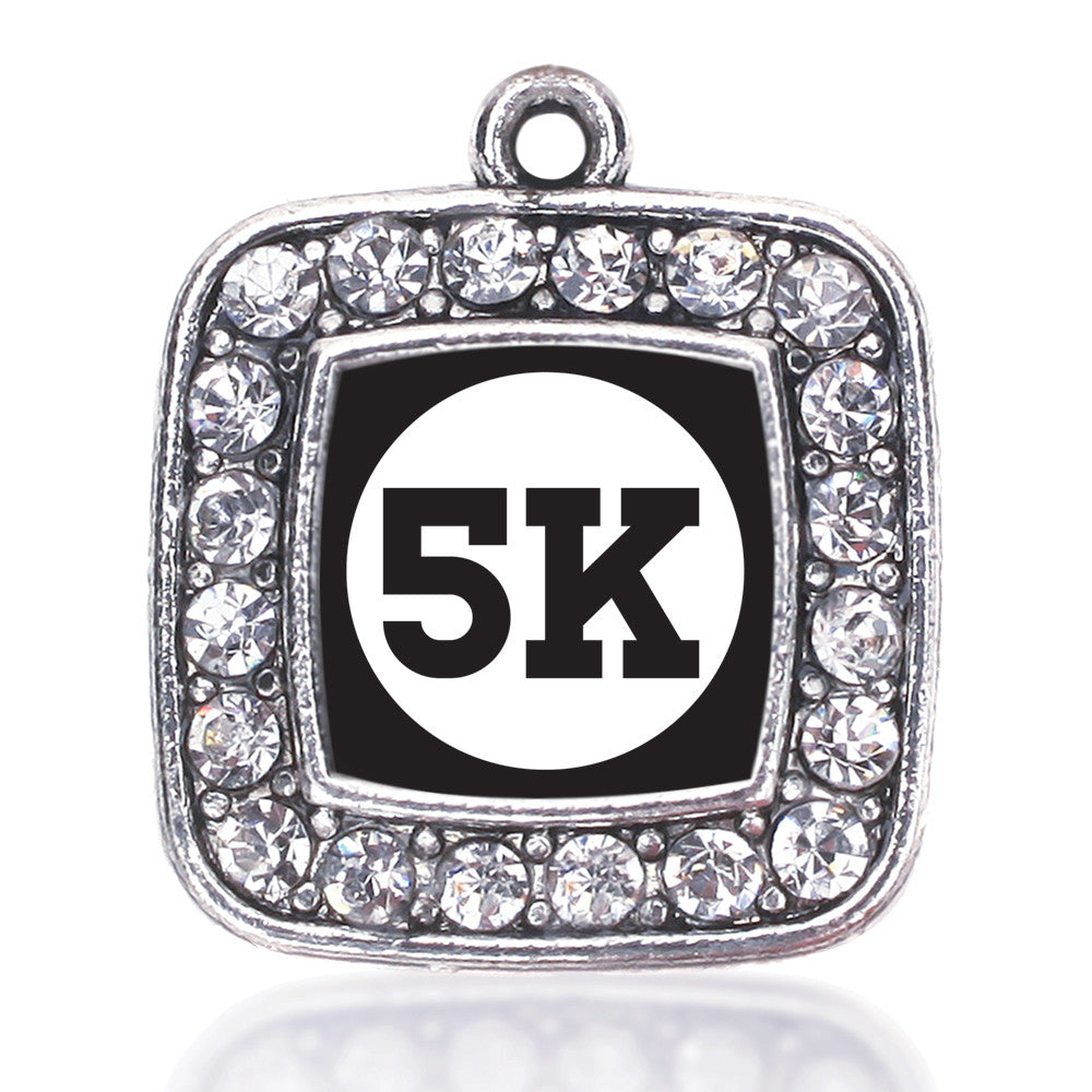 5K Runners Square Charm