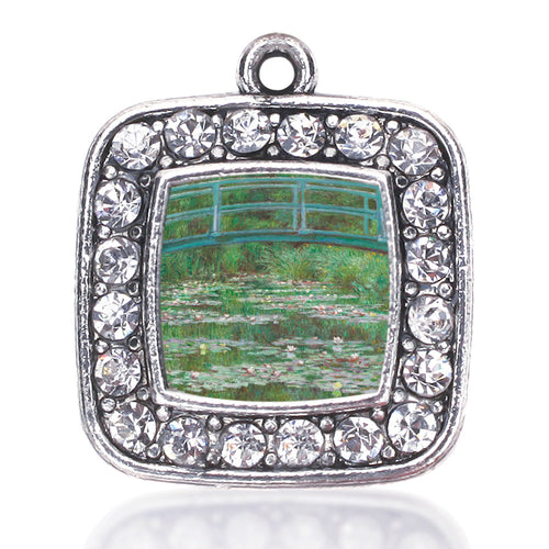 Monet Lily Pond Square Charm