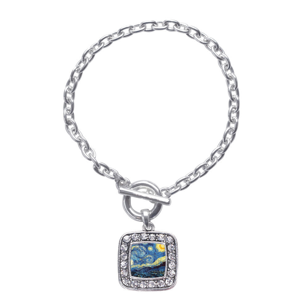 Starry Night Square Charm