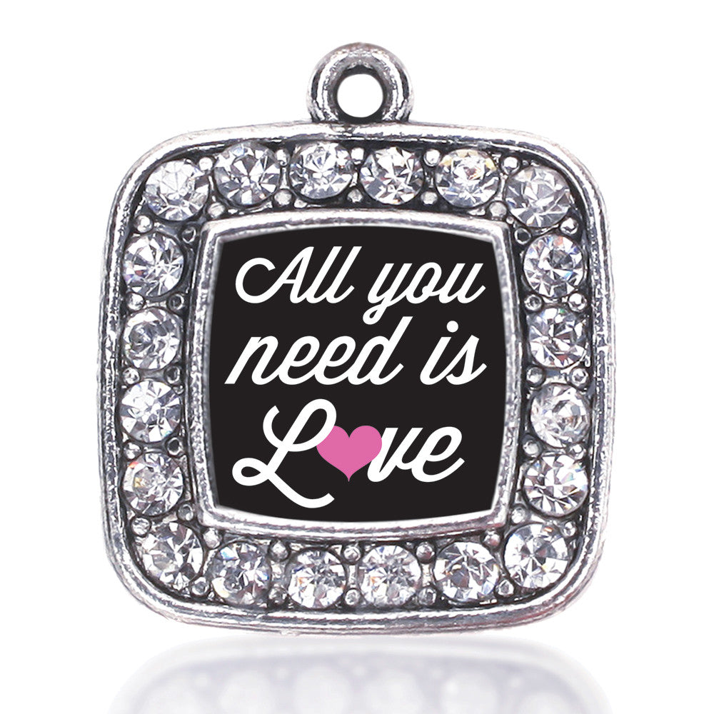 All You Need Is Love  Square Charm