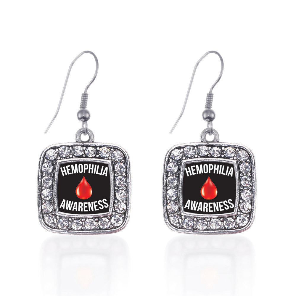 Hemophilia Awareness Square Charm