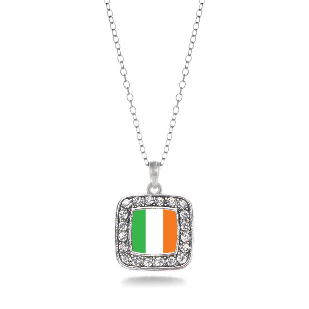 Ireland Flag Square Charm