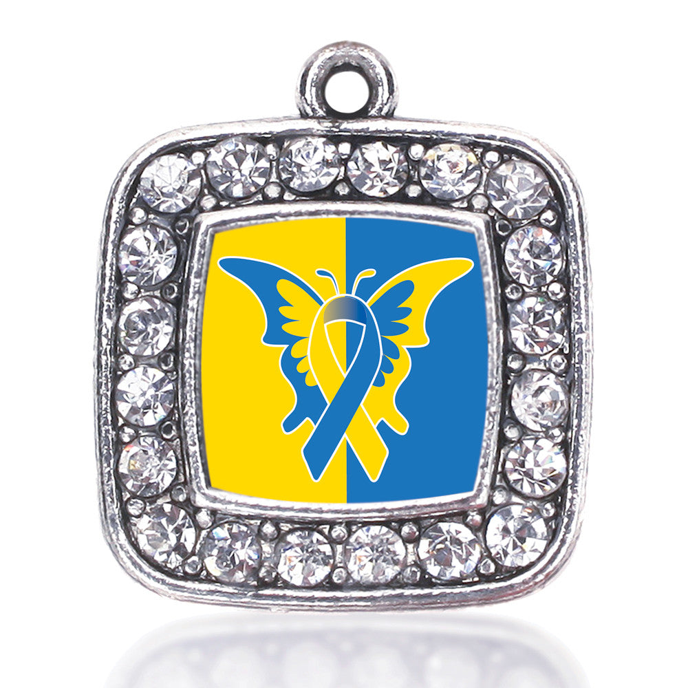 Down Syndrome Awareness Square Charm