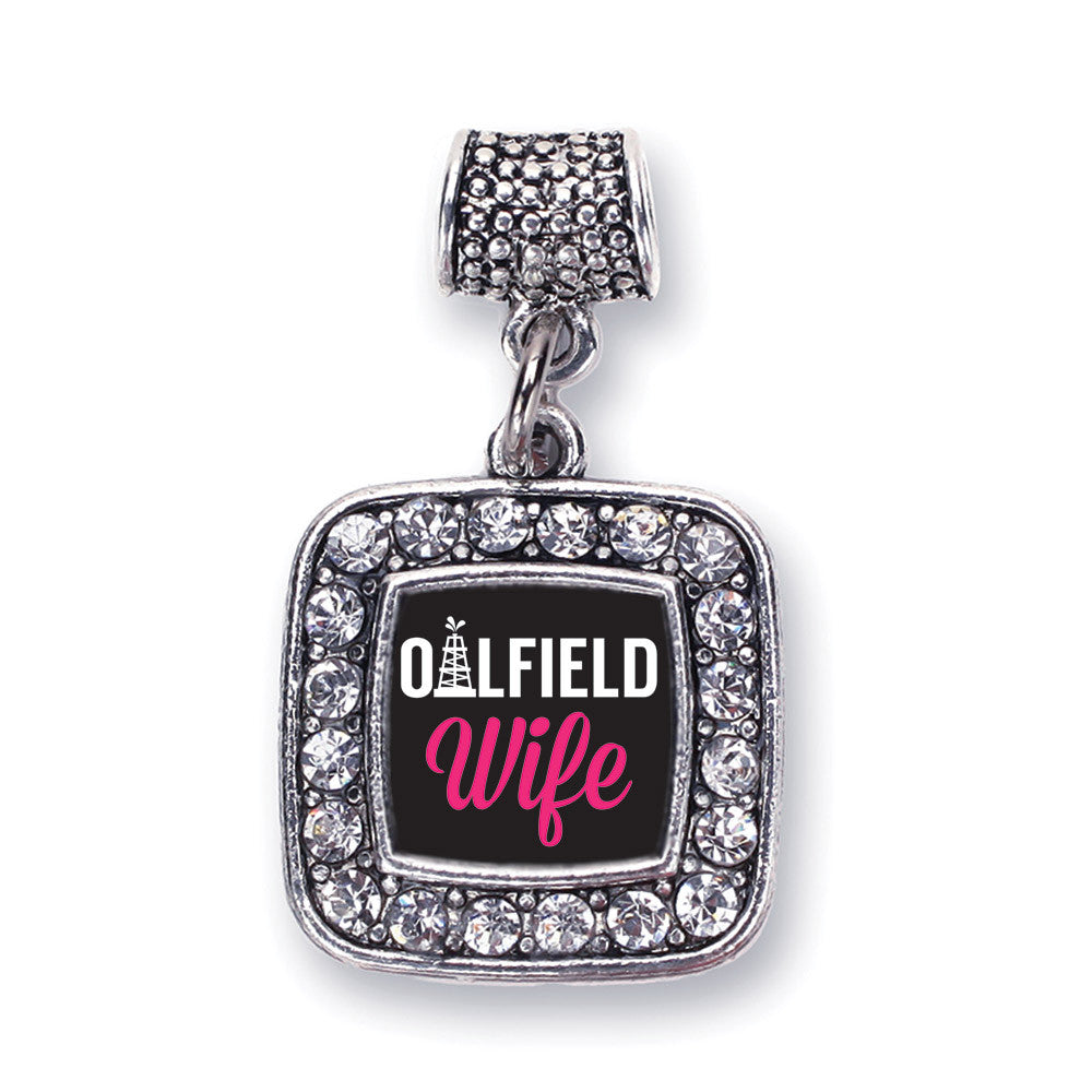 Oilfield Wife  Square Charm