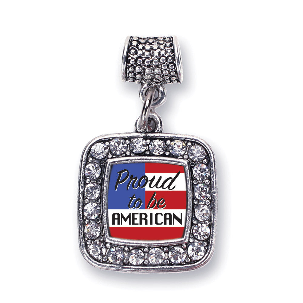 Proud to be American Square Charm