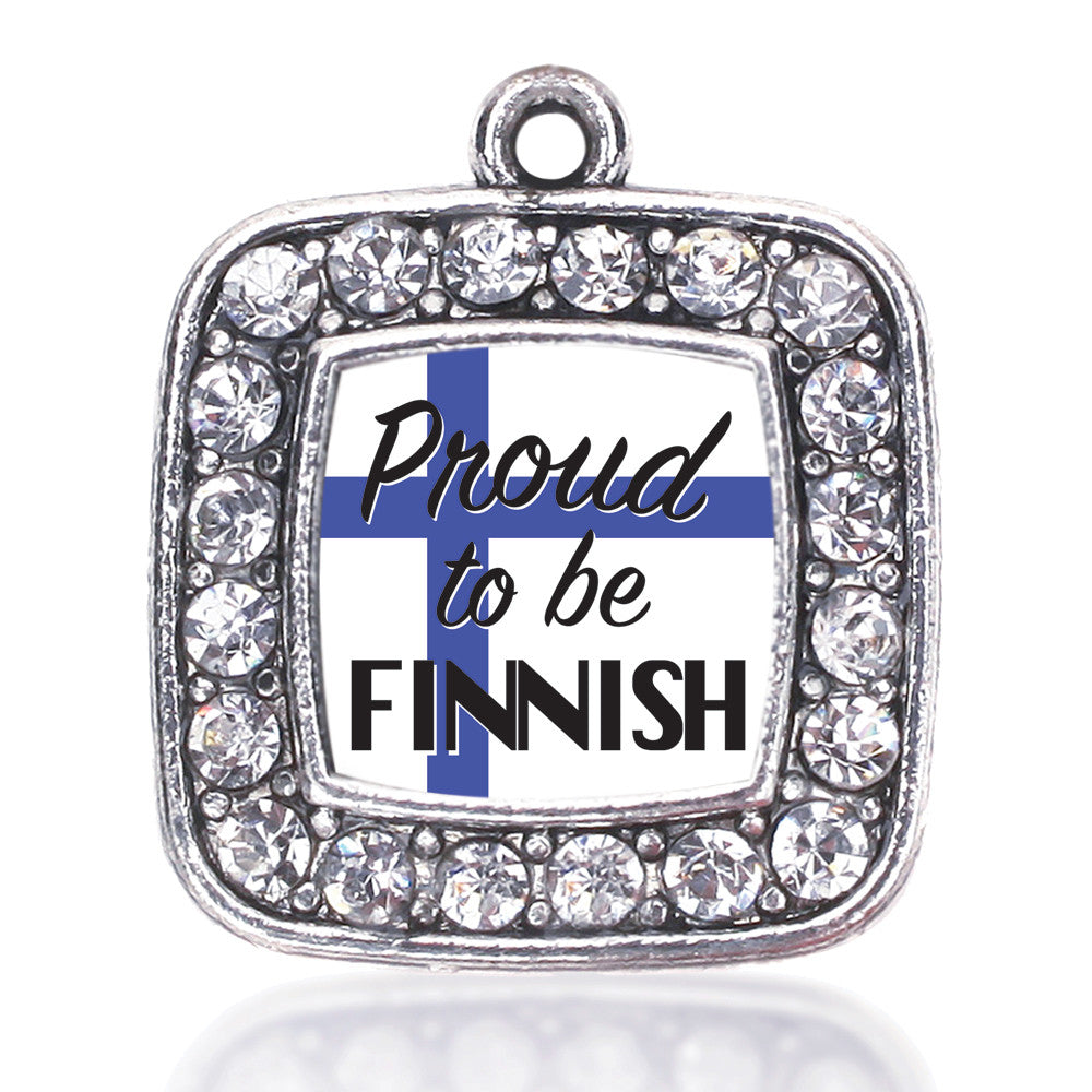 Proud to be Finnish Square Charm