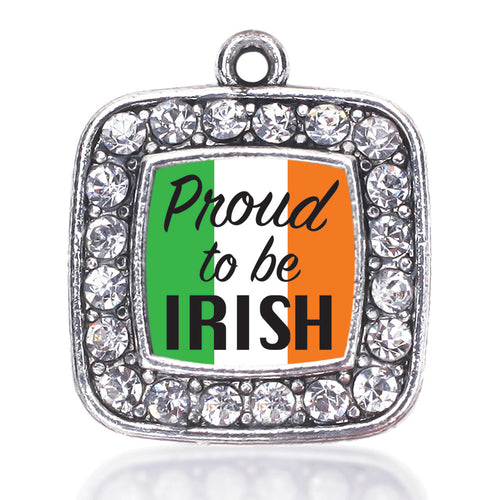Proud to be Irish Square Charm