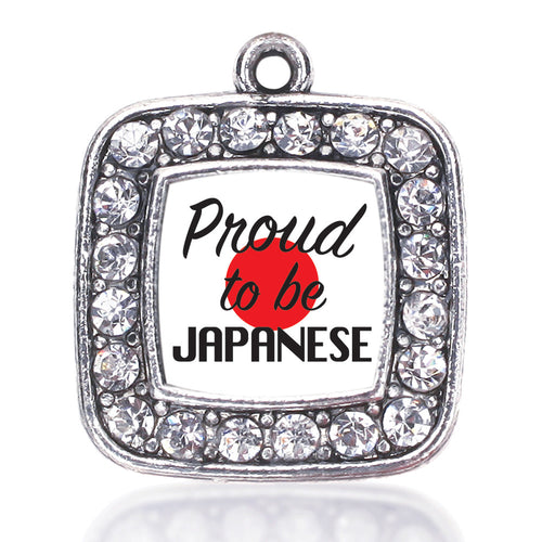 Proud to be Japanese Square Charm