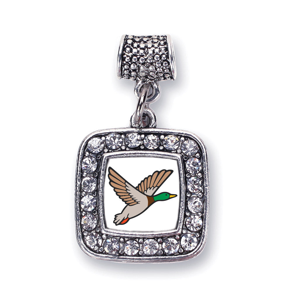 Duck Season Square Charm