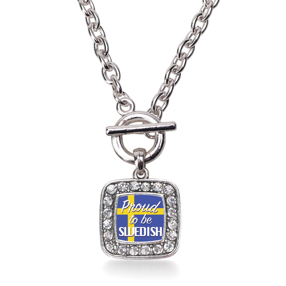 Proud to be Swedish Square Charm