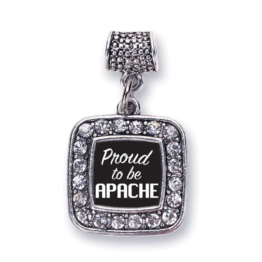 Proud To Be Apache  Square Charm