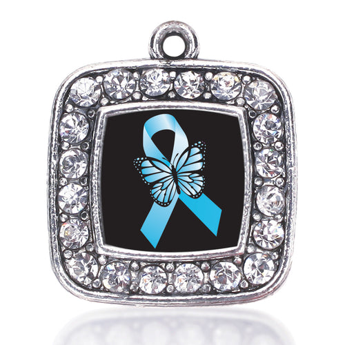 Addiction Recovery Square Charm