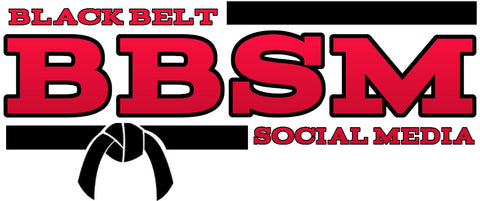 Black Belt Social Media Management Service Logo