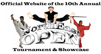North East Open Logo