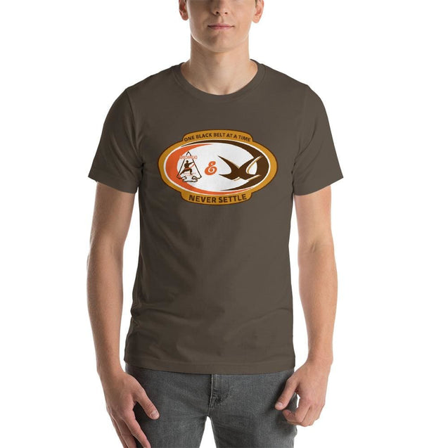 Arrowhead Martial Arts Root Beer Tee - Army / S