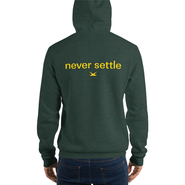 Gold Edition Never Settle Hoodie