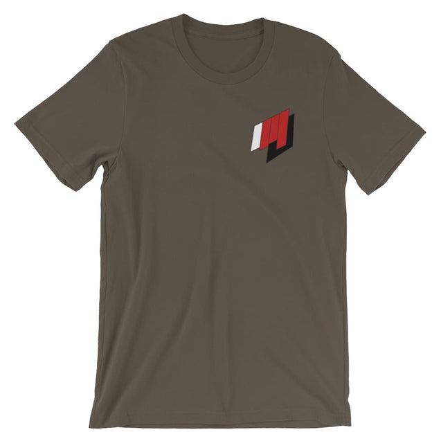 Martial Journal Tee - Army / S