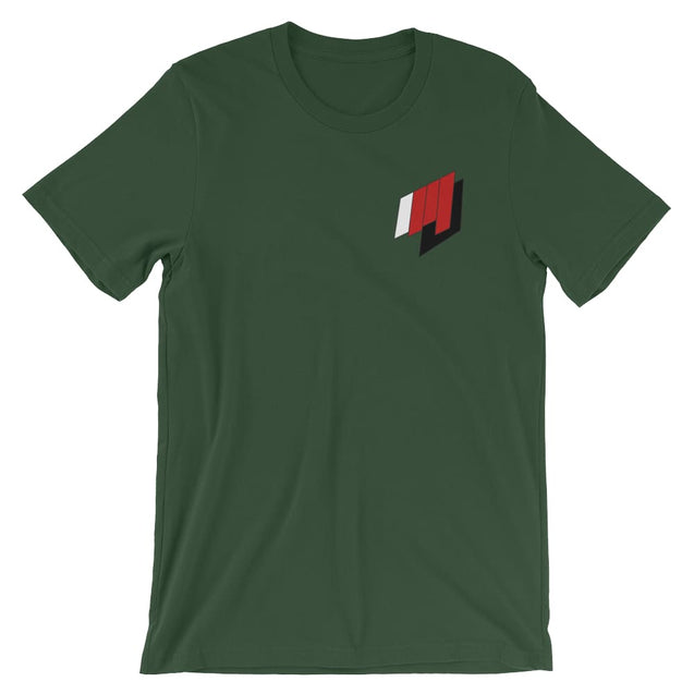 Martial Journal Tee - Forest / S