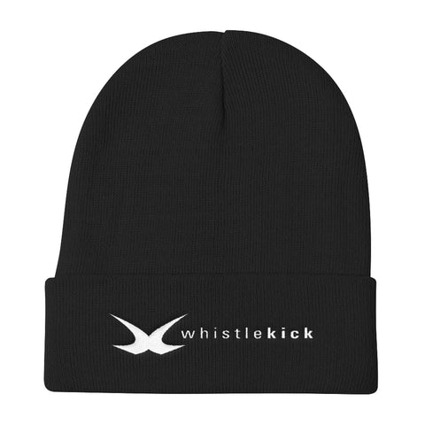 whistlekick Knit Beanie - Black