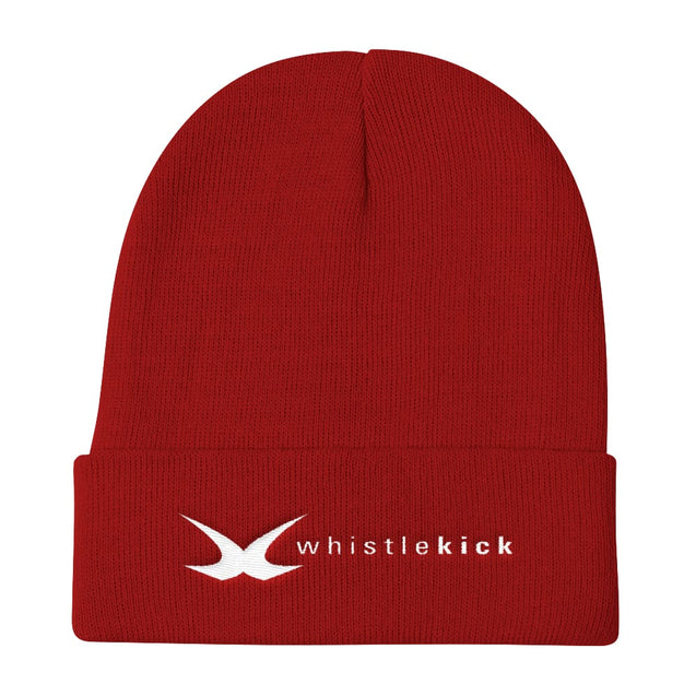 whistlekick Knit Beanie - Red