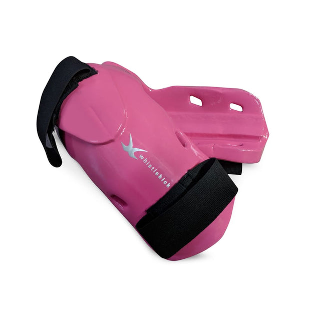 whistlekick Original Forearm & Elbow Guards - Small / Coral (Pink)