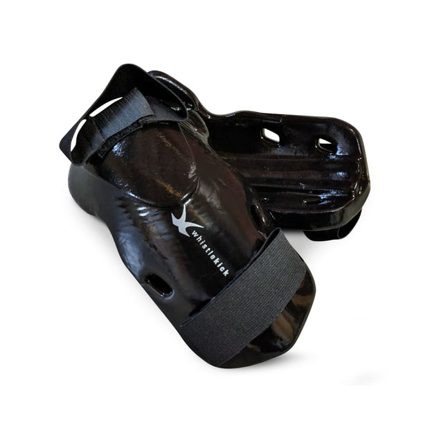 whistlekick Original Forearm & Elbow Guards - Small / Stealth (Black)