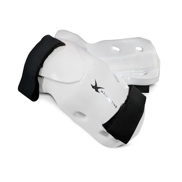 whistlekick Original Forearm & Elbow Guards - Small / Stratus (White)