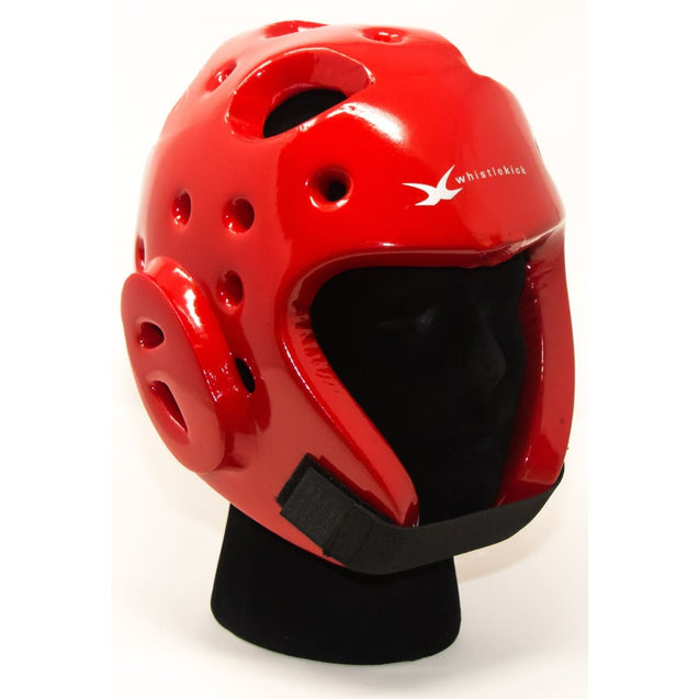 whistlekick Sparring Helmet - Small / Heat (Red)