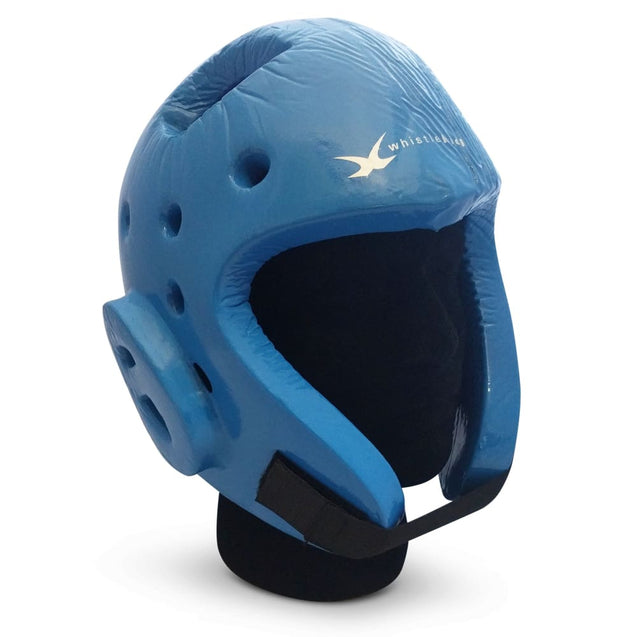 whistlekick Sparring Helmet - Small / Sharkskin (Blue / Light Blue Swirl)