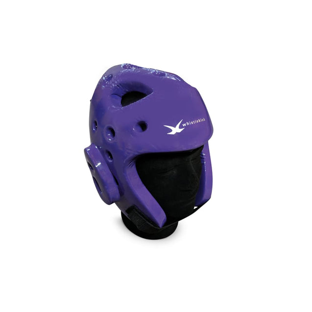 whistlekick Sparring Helmet - Small / Storm (Purple)