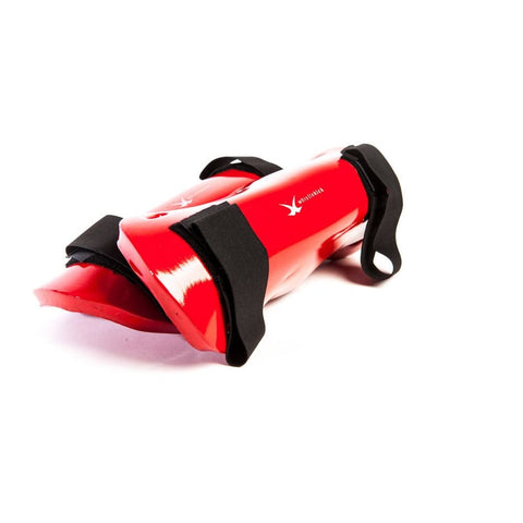 whistlekick Sparring Shin Guards - Small / Heat (Red)