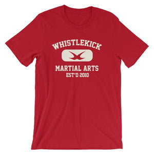 whistlekick XXL-Style Sport Tee - Red / S