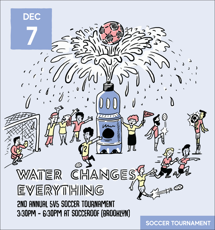 2nd Annual Water Changes Everything 5v5 Soccer Tournament