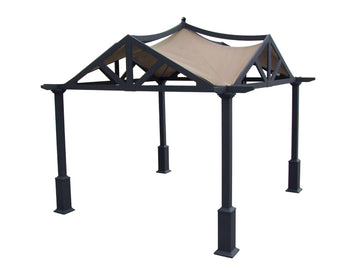 APEX GARDEN Replacement Canopy Top for Lowe's 10 ft x 10 ft Gazebo #GF-9A037X / GF-12S039B - APEX GARDEN