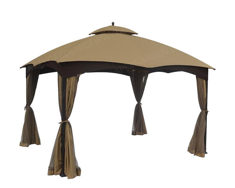 APEX GARDEN Canopy Top for Lowe's Allen Roth 10' x 12' Gazebo Model #GF-12S004BTO / GF-12S004B-1 - APEX GARDEN
