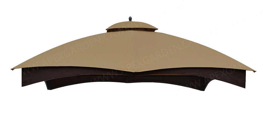 ALISUN Canopy Gazebo Cover Top for Lowe's Allen Roth 12-ft x 10-ft gazebo #TPGAZ17-002C - APEX GARDEN
