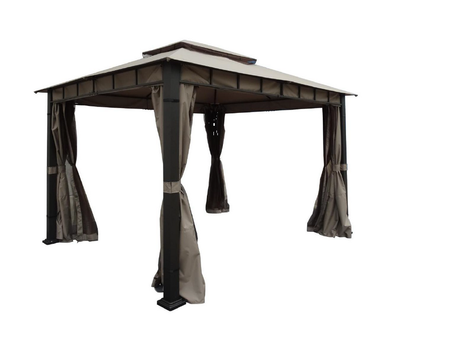 Replacement Canopy Top for TP-GAZ16000 10'x12' Gazebo - APEX GARDEN