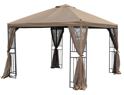 Replacement Canopy Top for GF-19S067B 10'x10' Gazebo - APEX GARDEN