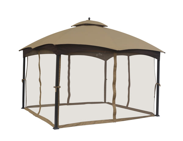 Replacement Mosquito Netting for GF-12S004B-1 Lowe's 10'X12' Gazebo - APEX GARDEN
